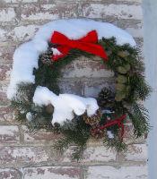 (c) 2006 John Meyer holiday wreath