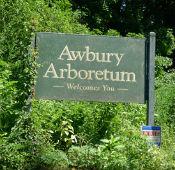 Awbury Arboretum sign