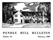 Pendle Hill Bulletin No. 18, Feb. 1939