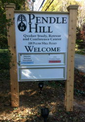Pendle Hill new signage